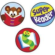 Trend Enterprises® SuperSpots® Stickers, Reading Celebration