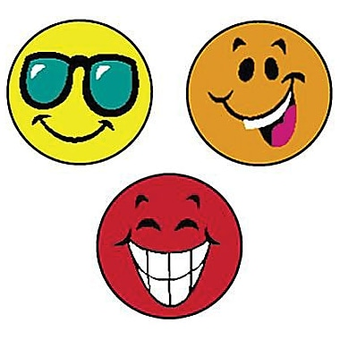 Trend Enterprises® SuperSpots® Stickers, Happy Smiles