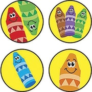 Trend Enterprises® SuperSpots® Stickers, Crayon Colors