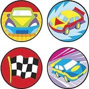 Trend Enterprises® SuperSpots® Stickers, Fast Cars