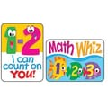 Trend Enterprises® Applause Stickers, Math Fun