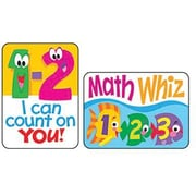 Trend Enterprises® Applause Stickers, Math Fun