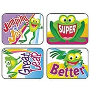 Trend Enterprises® Applause Stickers, Friendly Frogs