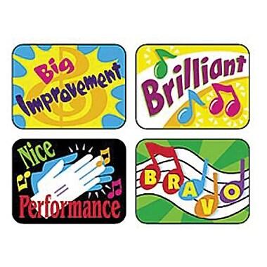 Trend Enterprises® Applause Stickers, Music Rewards