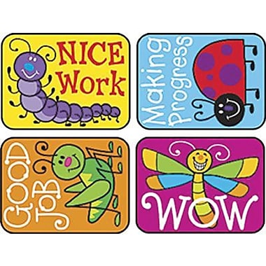 Trend Enterprises® Applause Stickers, Interesting Insects