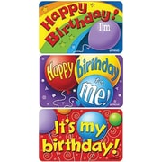 Trend Enterprises® Applause Stickers, Birthday Time