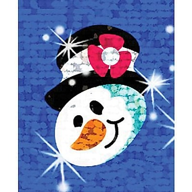 Trend Enterprises® Sparkle Stickers, Snow Folks