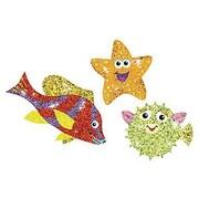 Trend Enterprises® Sparkle Stickers, Sealife Sparklers