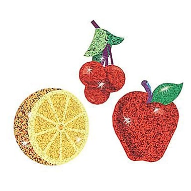 Trend Enterprises® Sparkle Stickers, Festive Fruit