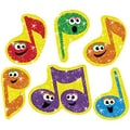 Trend Enterprises® Sparkle Stickers, Merry Music