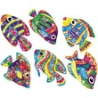 Trend Enterprises® Sparkle Stickers, Flashy Fish