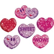 Trend Enterprises® Sparkle Stickers, Heart Hoorays