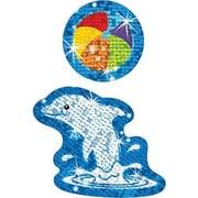 Trend Enterprises® Sparkle Stickers, Dynamic Dolphins