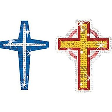 Trend Enterprises® Sparkle Stickers, Crosses