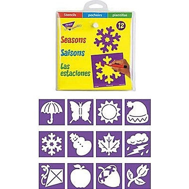 Trend Enterprises® Stencil, Seasons