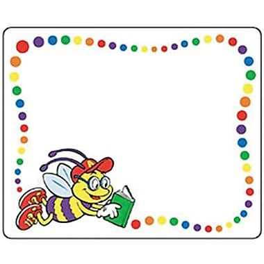 Trend Enterprises® 1st - 3rd Grades Name Tag, Alpha Bee