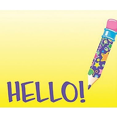 Trend Enterprises® 2nd - 9th Grades Name Tag, Hello