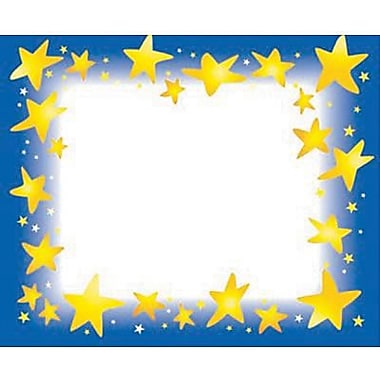 Trend Enterprises® pre-kindergarten - 9th Grades Name Tag, Star Brights