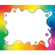 Trend Enterprises® pre-kindergarten - 9th Grades Name Tag, Rainbow Gel