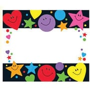 Trend Enterprises® pre-kindergarten - 3rd Grades Name Tag, Stars, Hearts and Smiles