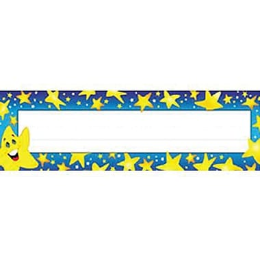 Desk Toppers® Kindergarten - 5th Grades Name Plate, Super Stars