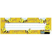 Desk Toppers® pre-kindergarten - 9th Grades Name Plate, Busy Bees