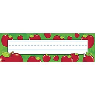 Desk Toppers® Pre Kindergarten - 3rd Grades Name Plate, Apples