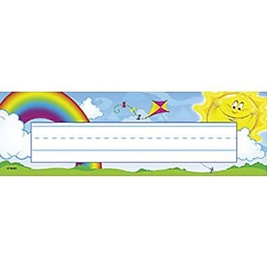 Desk Toppers® Pre Kindergarten - 3rd Grades Name Plate, Sunshine Days