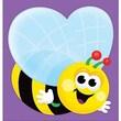"Trend Enterprises Notepad 5"" x 5"", Purple/Yellow (T-72002)"
