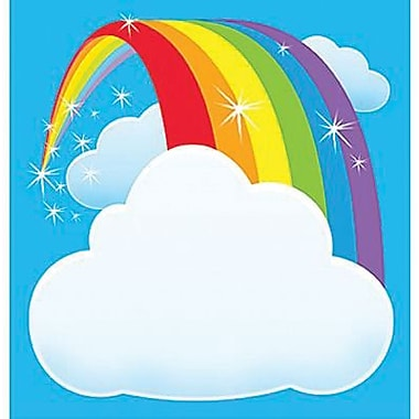 Trend Enterprises® 5in. x 5in. Note Pad, Rainbow
