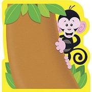 "Trend Enterprises® 5"" x 5"" Note Pad, Monkey"