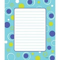 Trend Enterprises® 7 3/4in. x 6 1/2in. Note Pad,Blue Fizz