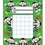 Trend Enterprises® Incentive Pads, Monkey Mischief