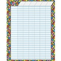 Trend Enterprises® Stained Glass Vertical Jumbo Incentive Chart, 22in. x 28in.