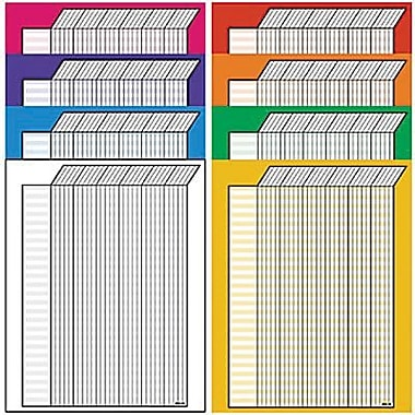 Trend Enterprises® Christian Fish Horizontal Jumbo Incentive Chart, Vertical Variety Pack