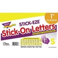 Trend Enterprises® STICK-EZE® Letter, Number and Mark Set, 1in., Yellow