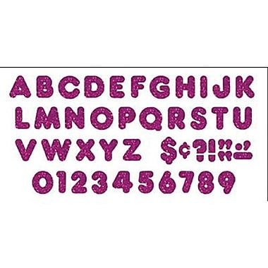Trend Enterprises® Ready Uppercase Letter, 3in., Purple