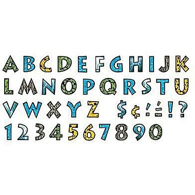 Trend Enterprises® Venture Ready Uppercase Letter, 4