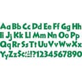 Trend Enterprises® 4in. Venture Combo Ready Letter Set, Kelly Green