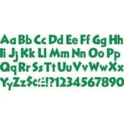 Trend Enterprises® 4 Venture Combo Ready Letter Set, Kelly Green