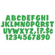 Trend Enterprises® Ready Splash Uppercase Letter, 4, Green