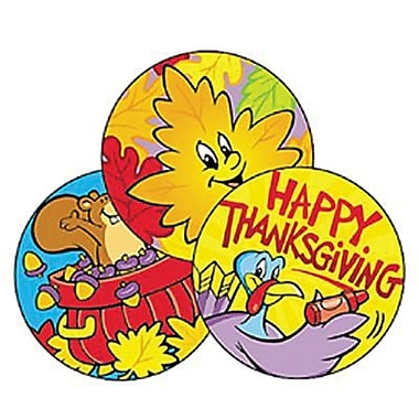 Trend Enterprises® Stinky Stickers, Thanksgiving Time/Pumpkin