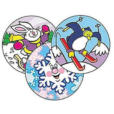 Trend Enterprises® Stinky Stickers, Winter Time Fun/WinterGreen