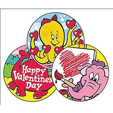 Trend Enterprises® Stinky Stickers, Valentine's Day/Chocolate-Cherry