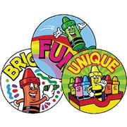 Trend Enterprises® Stinky Stickers, Creative Crayons/Fruit Punch