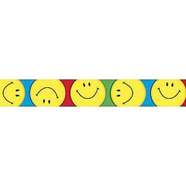 Trend Enterprises® pre-kindergarten - 9th Grades Bulletin Board Border, Big Smiles