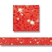 Trend Enterprises® pre-kindergarten - 9th Grades Bolder Border, Red Sparkle