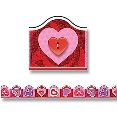 Trend Enterprises® Pre K - 5th Grades Scalloped Terrific Trimmer, Scrapbook Valentine Hearts