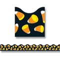 Trend Enterprises® Pre Kindergarten - 5th Grades Scalloped Terrific Trim, Candy Corn