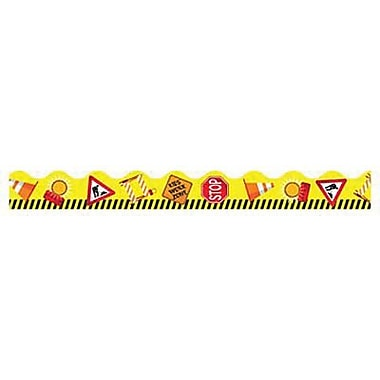 Trend Enterprises® pre-kindergarten - 2nd Grades Scalloped Terrific Trimmer, Work Zone